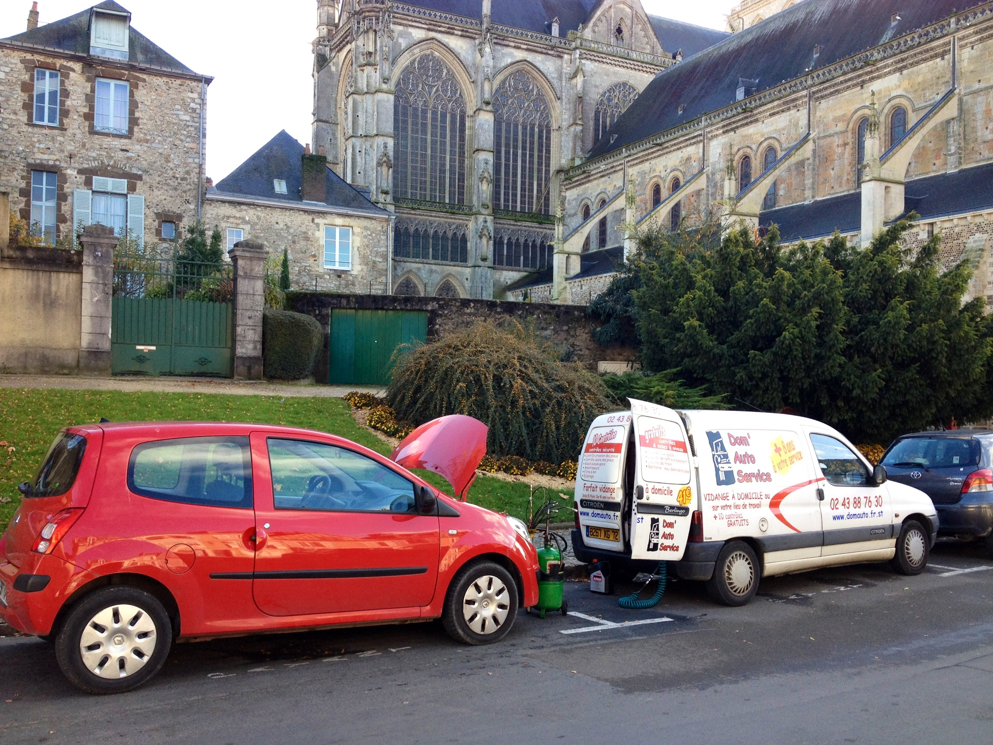Domauto services - Entretien véhicule à domicile Le Mans